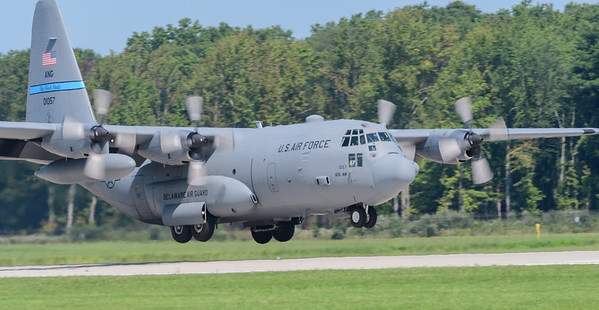 USAF C-130 from DE National Guard