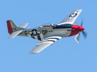 "WW 2 era P-51 Mustang ""Red Nose"""