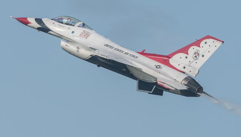 USAF Thunderbird #6 Opposing Solo, Major Whit Collins