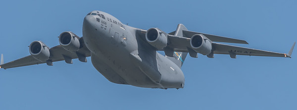 C-17 Globemaster III of the 436 AirWing ( Active) and 512 AW ( Guard)