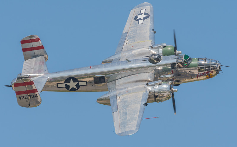"WW2 B-25 ""PANCHITO"" owned by Larry Kelly of Delaware"