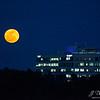 Moonrise over Airbus.