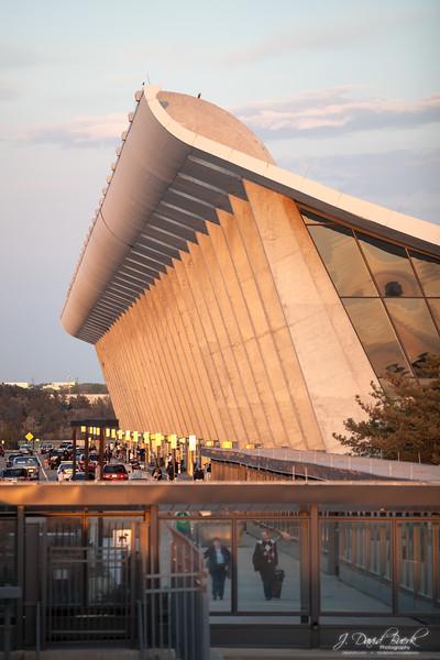 Main Terminal at sunset.