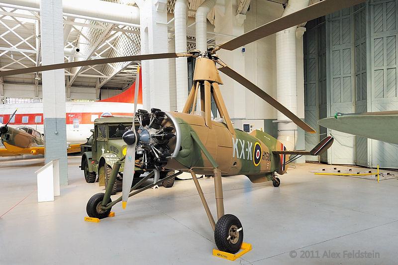 Cierva C30A autogiro