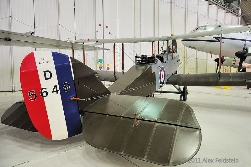 de Havilland DH-9 bomber (1917)