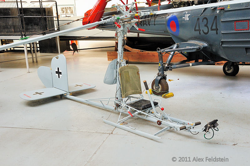 Focke Achgelis Fa 330 Bachstelze observation gyro