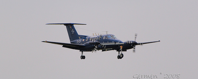 27-05-2008 	Reg:D-ICFI 	Type: Beech 200 	Unit:Aerodata Fight Inspection 	CallSign: FII 611 	Country:CIVIL 	Remarks:Kalibratie ILS rwy 27-09, dep 29/05 to ELLX