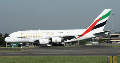A6-EDD EMIRATES A380
