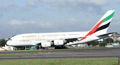 A6-EDA EMIRATES A380