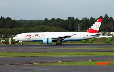 OE-LPC AUSTRIAN AIRLINES B777-200