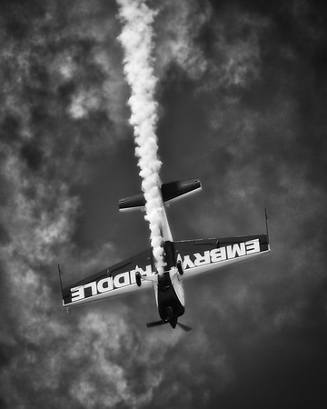 Embry-Riddle Eagle 580 - Matt Chapman - Gary Air Show - Gary, Indiana - Photo Taken: July 9, 2016