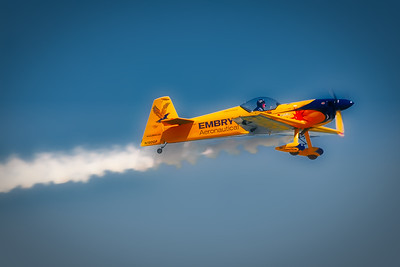Embry-Riddle Eagle 580 - Matt Chapman - Scott Air Force Base Air Show - Airpower over the Midwest - Scott AFB, Illinois - Photo Taken: September 12, 2010