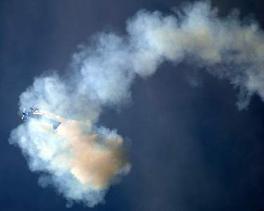 Embry-Riddle Eagle 580 - Matt Chapman - Gary Air Show - Gary, Indiana - Photo Taken: July 7, 2012
