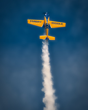 Embry-Riddle Eagle 580 - Matt Chapman - Chicago Air & Water Show - Chicago, Illinois - Photo Taken: August 19, 2017