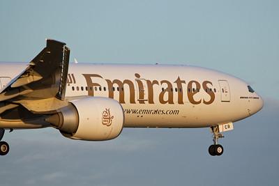 Emirates Boeing 777-300ER A6-ECR