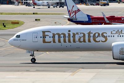 Emirates Boeing 777-300ER A6-ECD