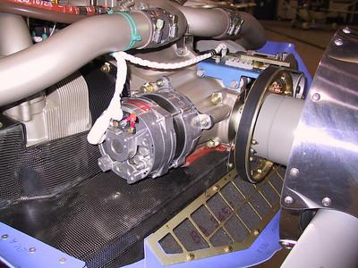 Engine Compartment Columbia 400