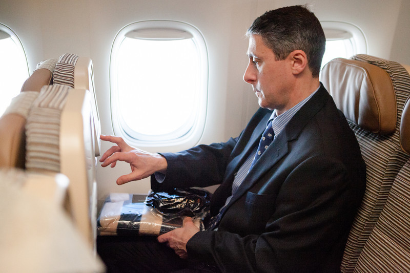 "www.jdbphoto.com<br />  <a href=""http://www.fb.com/jdbphoto"">http://www.fb.com/jdbphoto</a><br /> <br /> Etihad Airways at Washington Dulles International Airport.<br /> <br /> Photography by J. David Buerk."