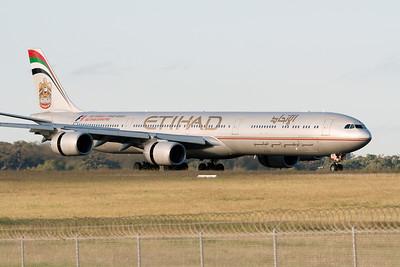 Etihad Airbus A340-600 A6-EHE