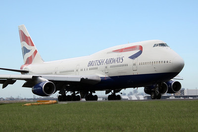 British Airways Boeing 747-400 G-BNLJ