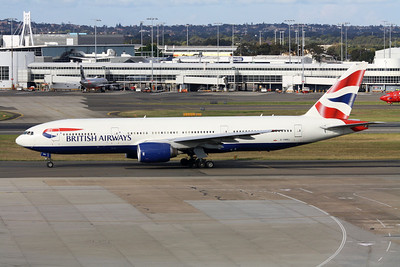 British Airways Boeing 777-236ER G-YMMJ
