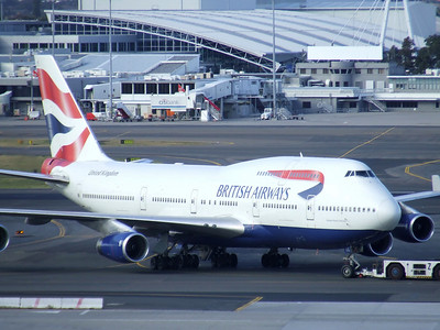 BRITISH AIRWAYS Boeing 747-400 G-CIVE