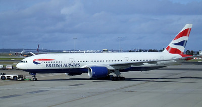 BRITISH AIRWAYS Boeing 777-200 G-YMMN