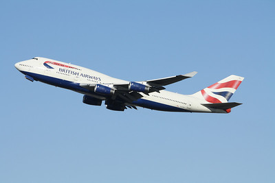 BRITISH AIRWAYS Boeing 747-400 G-CIVL