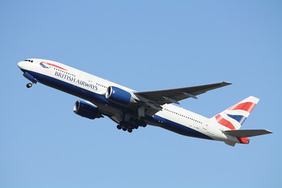 BRITISH AIRWAYS Boeing 777-200 G-YMMH