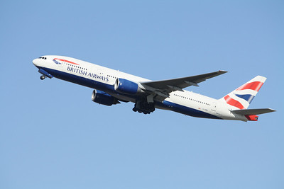 BRITISH AIRWAYS Boeing 777-200 G-YMMP
