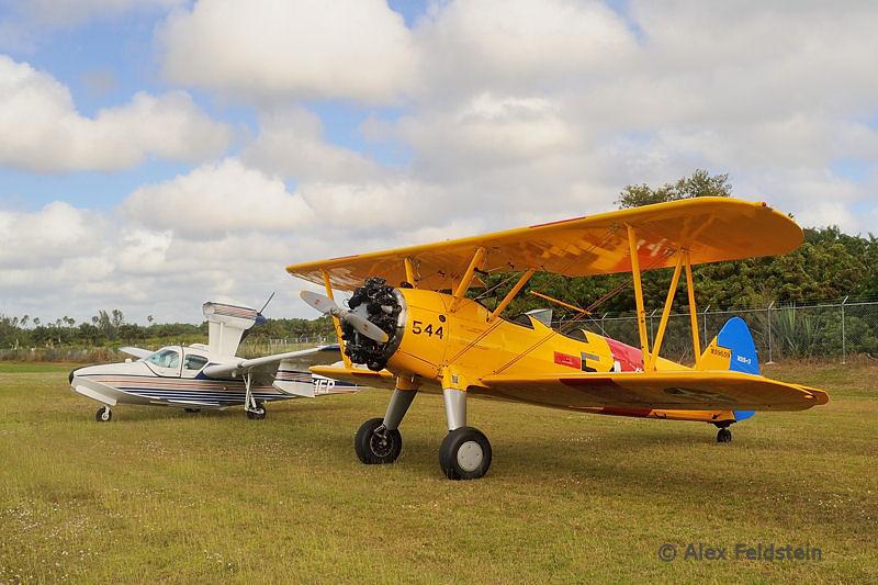 Boeing PT17 and  Consolidated Aeronautics LAKE LA-4-200