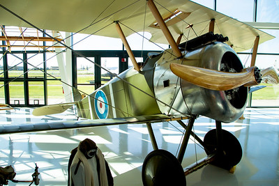 Sopwith Camel, like the one JHL III flew in France.