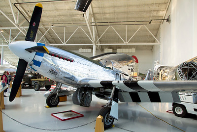 One of Americas finest WW-II fighters:  The North American P-51 Mustang.