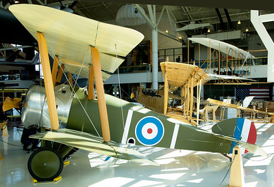 Side view of the Sopwith Camel