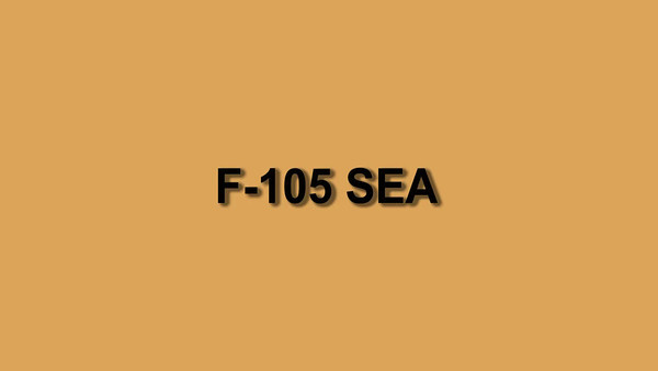 F-105 SEA 001 Production 1