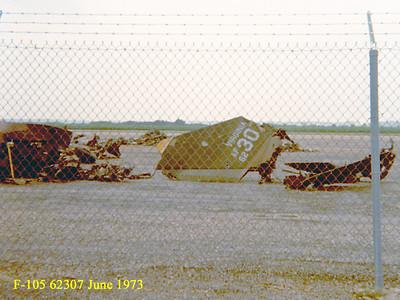 F-105D 62-4307 VA-ANG CRASH