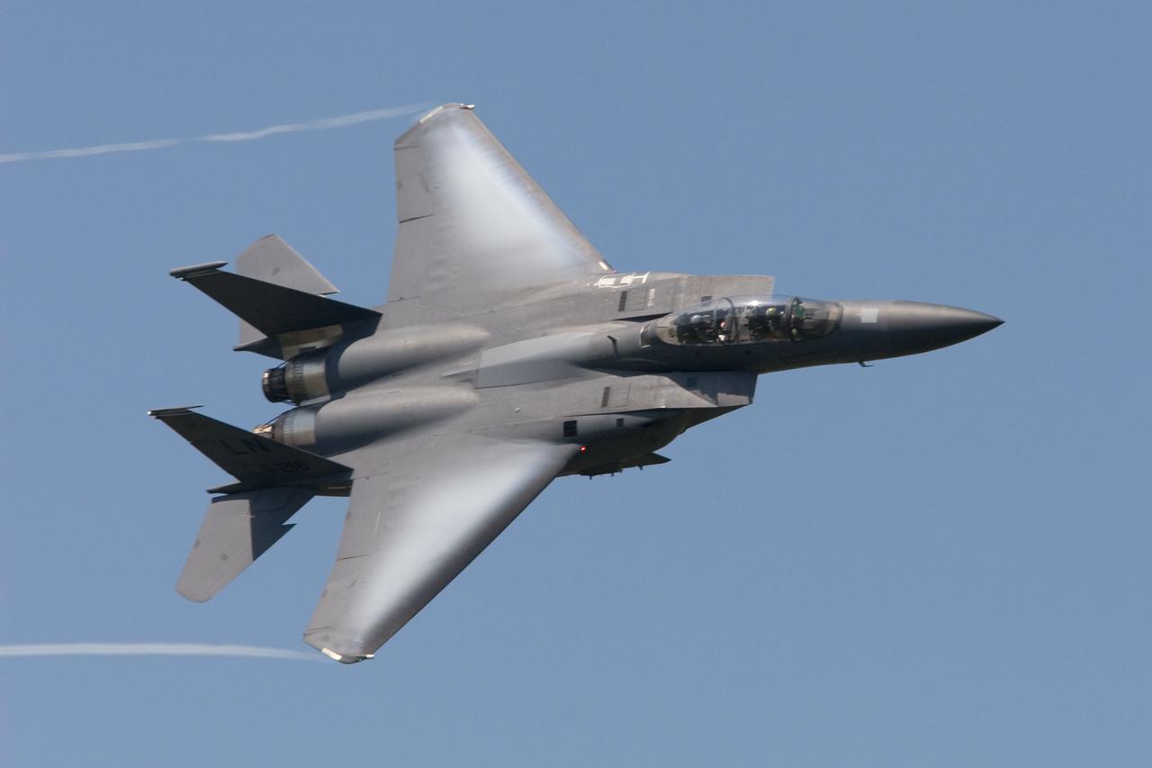 F-15E Strike Eagle. AF 97-218. US Air Force.
