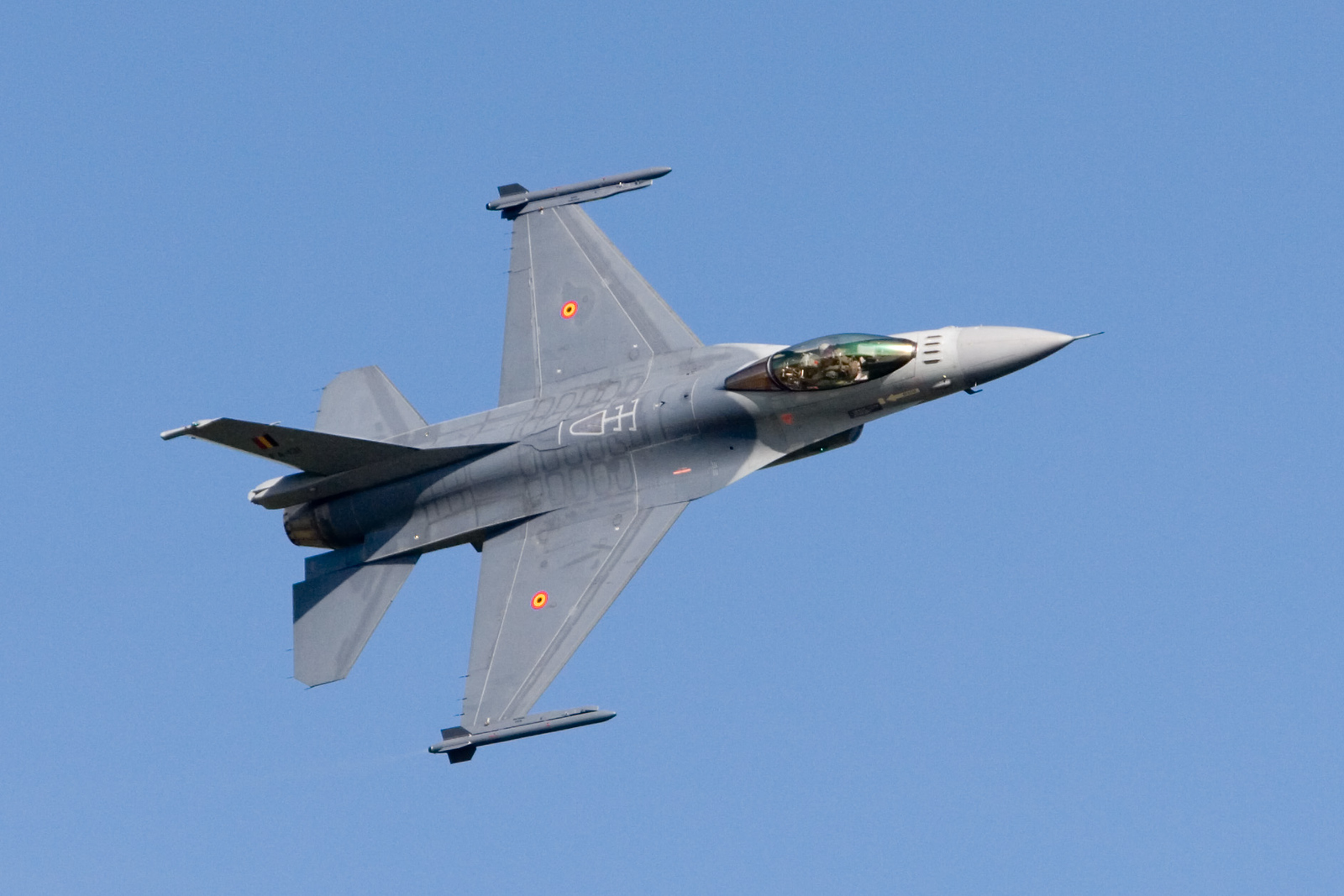 F-16. Belgian Air Force. FA-131.