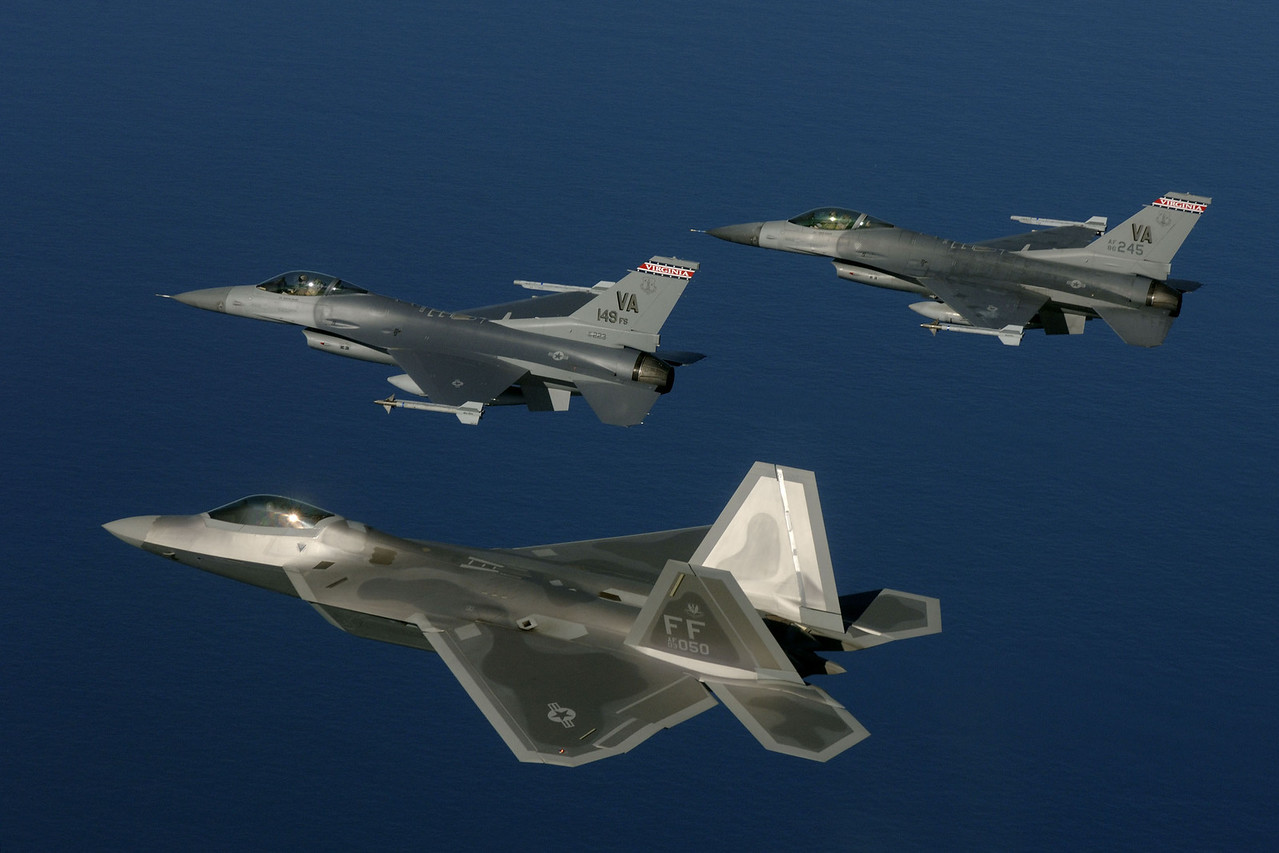 Fighter aircraft transition