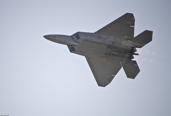 F22 - Raptor<br /> <br /> This photograph is protected by the U.S. Copyright Laws and shall not to be downloaded or reproduced by any means without the formal written permission of Bob Arkow Photography.