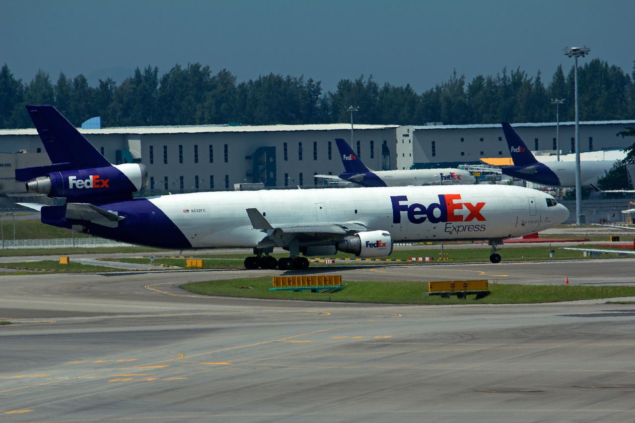 N522FE FEDEX MD-11