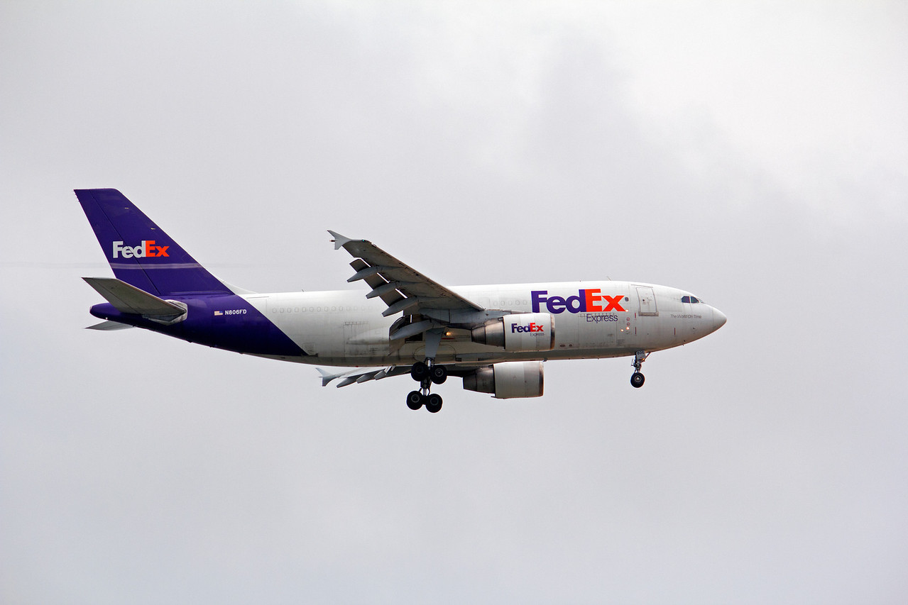 N806FD FEDEX A310F