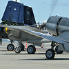 Grumman F7F-3 Tigercat, Lockheed P-38J Lighning, and Vought F4U-1A Corsair
