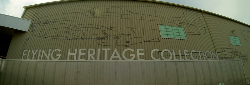 Entrance to the Flying Heritage Museum