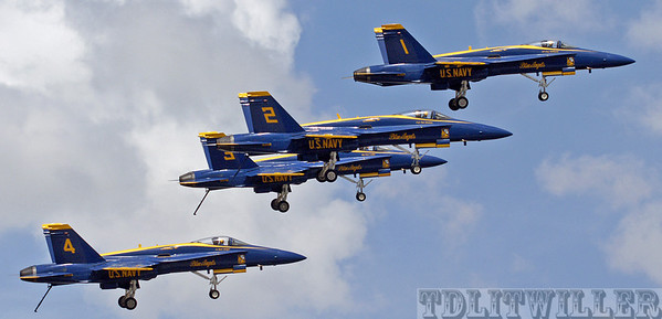"""Florida International Air show""  Blue Angels"