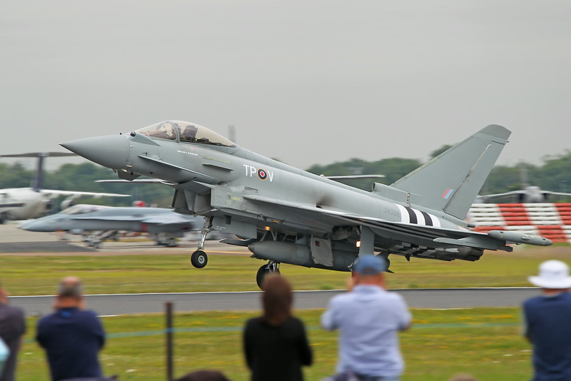 Airshow Fairford 2014 - Eurofighter Typhoon (D-Day colours)