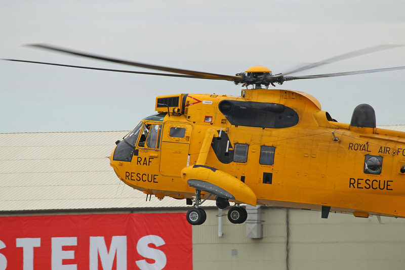 Airshow Fairford 2014 - Sea King HAR3 (RAF)