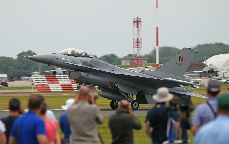 Airshow Fairford 2014 - F-16AM (Belgium)