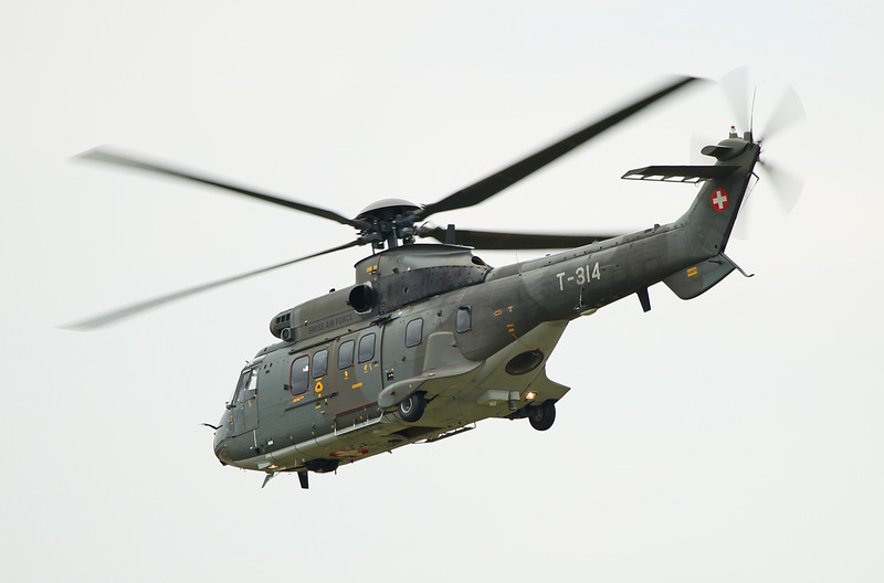 Airshow Fairford 2014 - Super Puma (Switzerland)