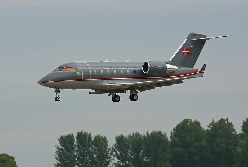 Airshow Fairford 2014 - CL604 Challenger (Denmark)